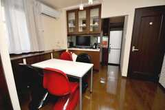 シェアハウスのラウンジの様子。(2009-02-10,共用部,OTHER,3F)