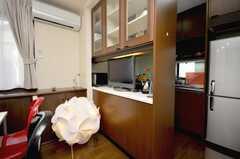 シェアハウスのラウンジの様子3。(2009-02-10,共用部,LIVINGROOM,3F)