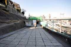 JR田端駅南口の様子。(2009-02-10,共用部,ENVIRONMENT,1F)