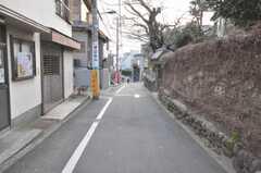 JR田端駅からシェアハウスへ向かう道の様子。(2009-02-10,共用部,ENVIRONMENT,1F)