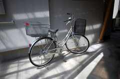 共用の自転車。(2008-06-04,共用部,OTHER,1F)