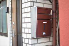 郵便受けの様子。(2020-09-30,周辺環境,ENTRANCE,1F)