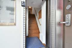 玄関から見た内部の様子。(2020-09-30,周辺環境,ENTRANCE,1F)