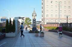 田端駅前の遊歩道2。(2020-09-30,共用部,ENVIRONMENT,1F)