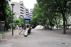 シェアハウスの近くには公園もあります。(2011-05-10,共用部,ENVIRONMENT,1F)