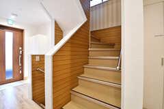 階段の様子。(2016-12-14,共用部,OTHER,2F)