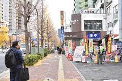 都営三田線・本蓮沼駅周辺の様子。(2016-12-14,共用部,ENVIRONMENT,1F)