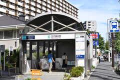 東京メトロ南北線・王子神谷駅の様子。(2019-09-19,共用部,ENVIRONMENT,1F)