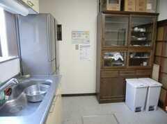 キッチンの様子。(2008-01-08,共用部,KITCHEN,1F)