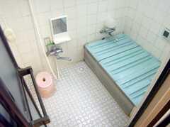 お風呂場の様子。お湯を張ってもOKです(2008-01-08,共用部,BATH,1F)