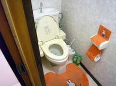 トイレの様子。(2008-01-08,共用部,TOILET,1F)