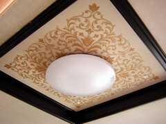 専有部の様子4。天井はちょっと豪華(203号室)(2008-01-08,専有部,ROOM,2F)