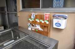 郵便受けの様子。(2009-02-12,共用部,OTHER,1F)