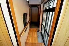 廊下の様子。(2009-02-12,共用部,OTHER,1F)