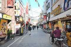 京浜東北線東十条駅前の商店街の様子。(2009-02-12,共用部,ENVIRONMENT,1F)