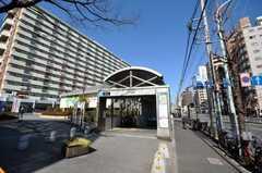東京メトロ南北線王子神谷駅の様子。(2009-02-12,共用部,ENVIRONMENT,1F)