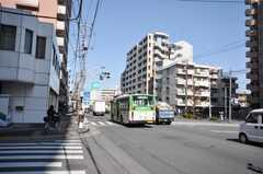 東京メトロ南北線王子神谷駅からシェアハウスへ向かう道の様子。(2009-02-12,共用部,ENVIRONMENT,1F)