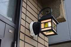 玄関灯の様子。(2013-07-31,周辺環境,ENTRANCE,1F)