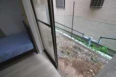 窓の外の様子。(103号室)(2013-07-31,専有部,ROOM,1F)