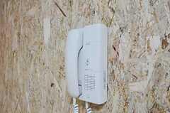 インターホンの受信器の様子。(201号室)(2010-10-18,共用部,OTHER,2F)