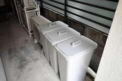ゴミは一時的にこちらのスペースに保管し、ゴミの日に出します。(2010-10-18,共用部,OTHER,1F)