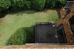 ベランダからの景色、5月バージョン2。(202号室)(2013-05-10,専有部,ROOM,2F)