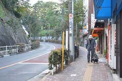 JR京浜東北線・上中里駅周辺の様子。(2016-10-14,共用部,ENVIRONMENT,1F)