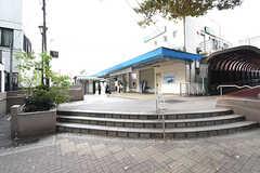 JR京浜東北線・上中里駅の様子。(2016-10-14,共用部,ENVIRONMENT,1F)