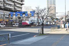 都営三田線・西巣鴨駅周辺の様子。(2019-01-17,共用部,ENVIRONMENT,1F)