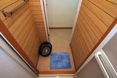 脱衣室の様子。(2010-11-10,共用部,BATH,1F)