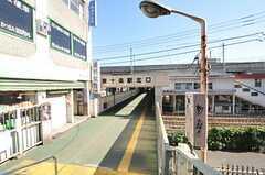 JR京浜東北線・東十条駅の様子。(2010-11-10,共用部,ENVIRONMENT,1F)