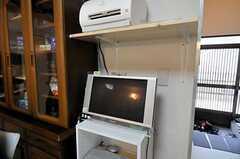 共用PCの様子。(2010-11-18,共用部,PC,1F)