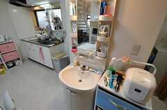 男性専用の洗面台の様子。(2010-11-18,共用部,OTHER,1F)