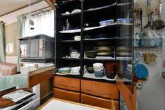 食器棚の様子。(2020-06-04,共用部,KITCHEN,2F)