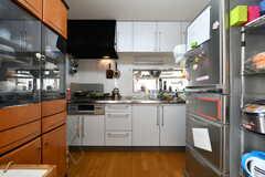 キッチンの様子。(2021-06-07,共用部,KITCHEN,2F)