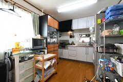 キッチンの様子2。(2021-06-07,共用部,KITCHEN,2F)