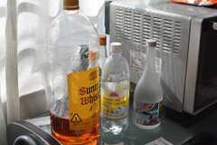 お酒好きの入居者さんが多い様子。(2021-06-07,共用部,KITCHEN,2F)