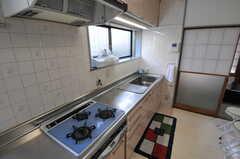 キッチンの様子2。(2012-07-09,共用部,KITCHEN,1F)