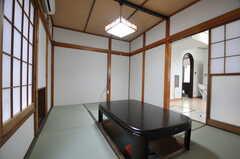 居間の様子2。(2012-07-09,共用部,LIVINGROOM,1F)