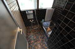 バスルームの様子。タイルが美しい。(2012-07-09,共用部,BATH,1F)