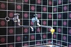 シックなタイルと浴槽の蛇口。(2012-07-09,共用部,LIVINGROOM,1F)