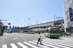 各線・王子駅前の様子。(2012-07-09,共用部,ENVIRONMENT,1F)