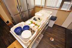 食器の様子。(2009-07-03,共用部,OTHER,1F)