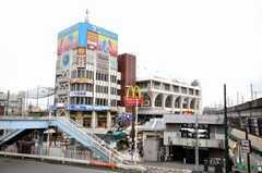 各線王子駅前の様子。(2009-07-03,共用部,ENVIRONMENT,1F)