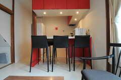 シェアハウスのリビングの様子3。(2011-05-17,共用部,LIVINGROOM,1F)