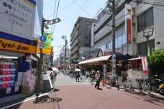 シェアハウスの近くには商店街もあります。(2010-05-21,共用部,ENVIRONMENT,1F)