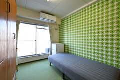 ゲストルームの様子。(414号室)(2018-01-15,専有部,ROOM,4F)