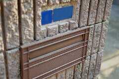 ポストの様子。(2012-04-09,周辺環境,ENTRANCE,1F)