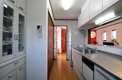 キッチンの様子2。(2012-04-09,共用部,KITCHEN,3F)