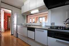 キッチンの様子3。(2012-04-09,共用部,KITCHEN,3F)
